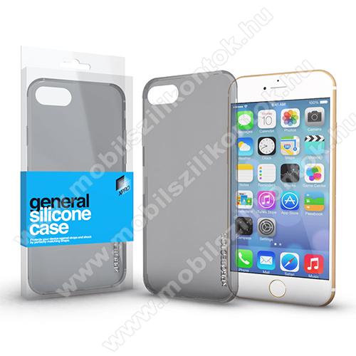 Xpro szilikon védő tok / hátlap - ULTRAVÉKONY! 0.33mm - FÜSTSZÜRKE - APPLE iPhone 6 Plus / APPLE iPhone 6S Plus - GYÁRI