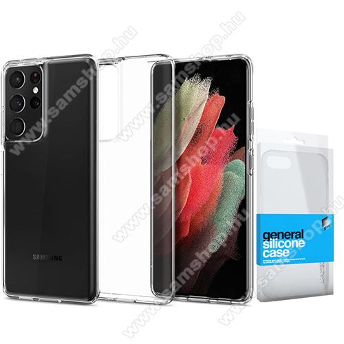 Xpro szilikon védő tok / hátlap - ULTRAVÉKONY! 0.33mm - ÁTLÁTSZÓ - SAMSUNG Galaxy S21 Ultra 5G (SM-G998B/SM-G998B/DS) - GYÁRI