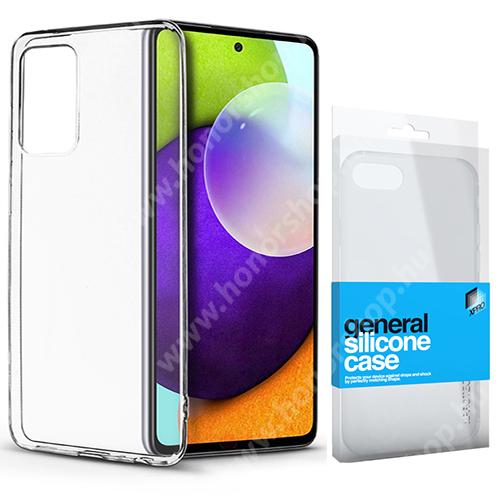 Xpro szilikon védő tok / hátlap - ULTRAVÉKONY! 0.33mm - ÁTLÁTSZÓ - SAMSUNG Galaxy A52 5G (SM-A526F) / Galaxy A52 4G (SM-A525F) - GYÁRI