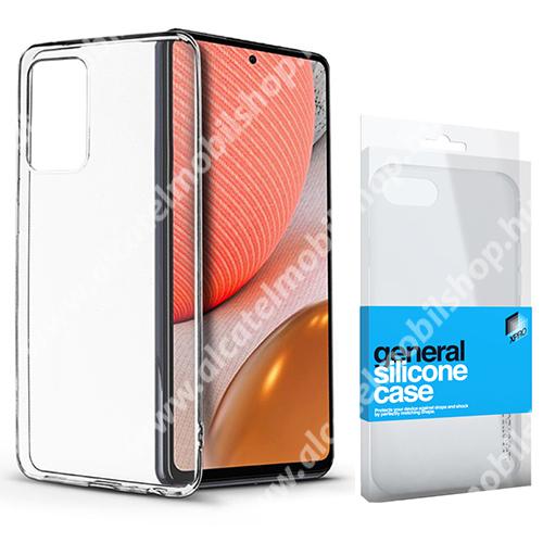 Xpro szilikon védő tok / hátlap - ULTRAVÉKONY! 0.33mm - ÁTLÁTSZÓ - SAMSUNG Galaxy A72 5G (SM-A726F) / Galaxy A72 4G (SM-A725F) - GYÁRI