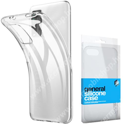 Xpro szilikon védő tok / hátlap - ULTRAVÉKONY! 0.33mm - ÁTLÁTSZÓ - Xiaomi Poco M3 / Redmi 9T / Redmi 9 Power - GYÁRI