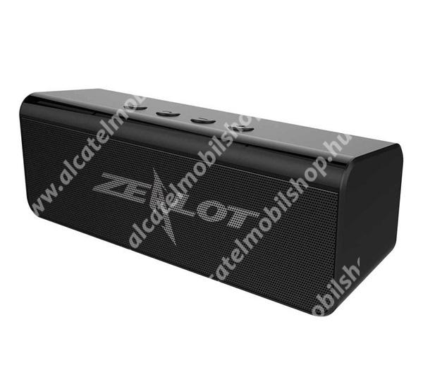 Alcatel OT-810D ZEALOT BLUETOOTH horozható hangszóró - v5.0, 2000mAh belső akku, 360°-os hangzás - FEKETE - S31_B - GYÁRI