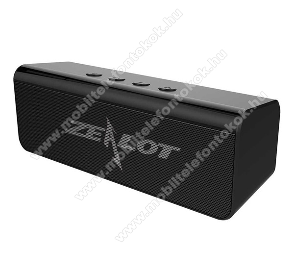 ZEALOT BLUETOOTH horozható hangszóró - v5.0, 2000mAh belső akku, 360°-os hangzás - FEKETE - S31_B - GYÁRI